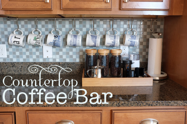 Review countertopcoffeebar2 Amazing - kitchen countertop organization ideas New Design
