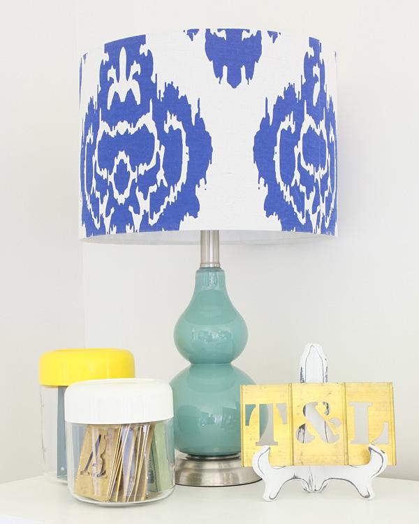 blue gourd lamp