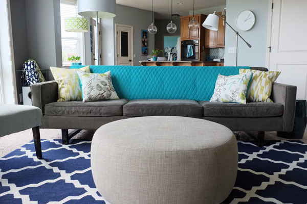 Grey Living Room With Blue Accents how to create your decorating accent color palette - school of