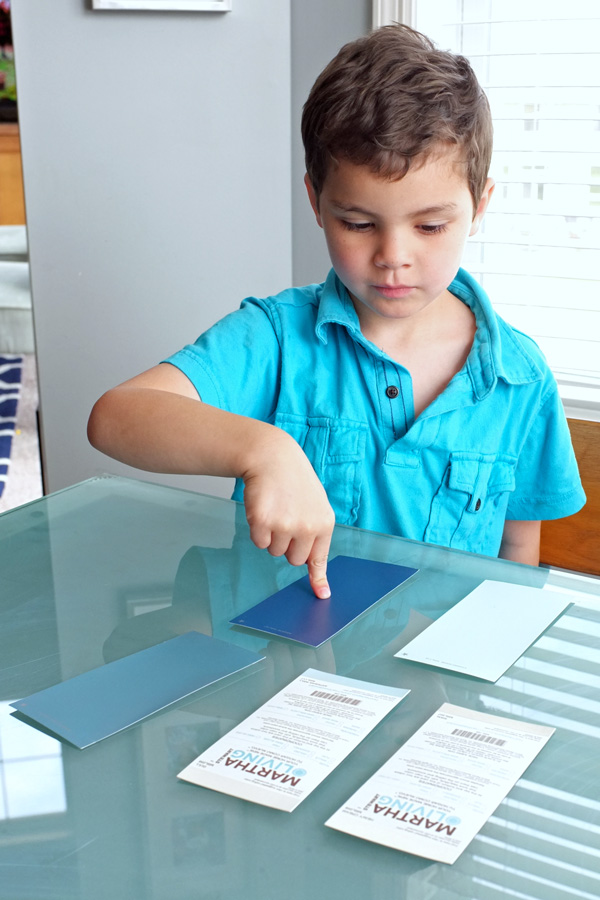 Choosing Paint Colors with Kids