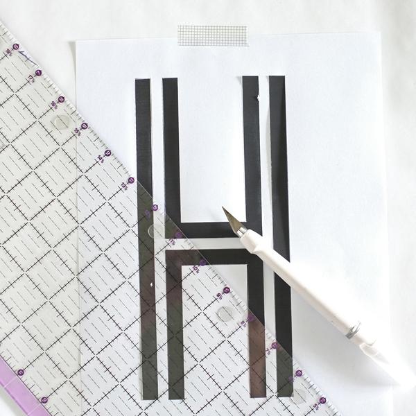 DIY Monogram Tray