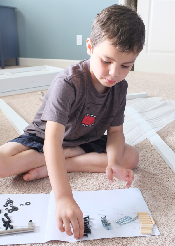 decorating with kids