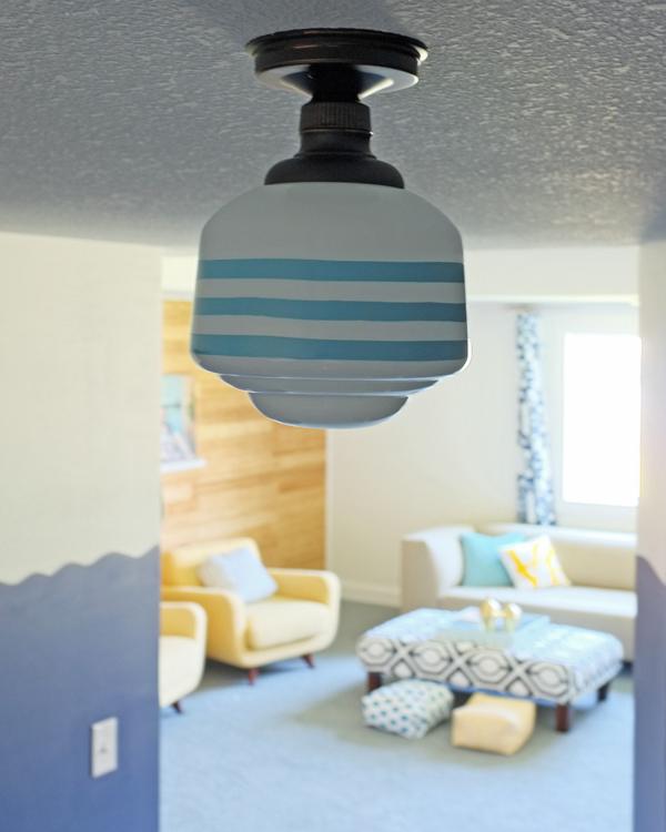 DIY Schoolhouse Light