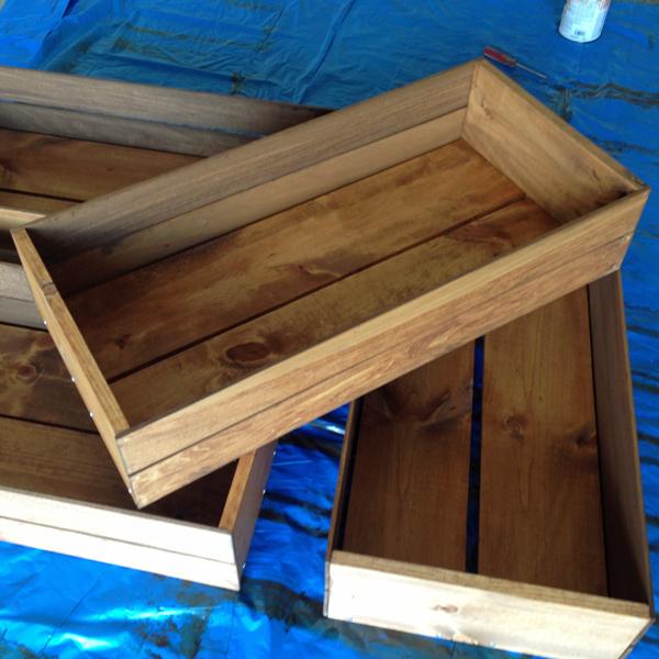 DIY Storage Crate
