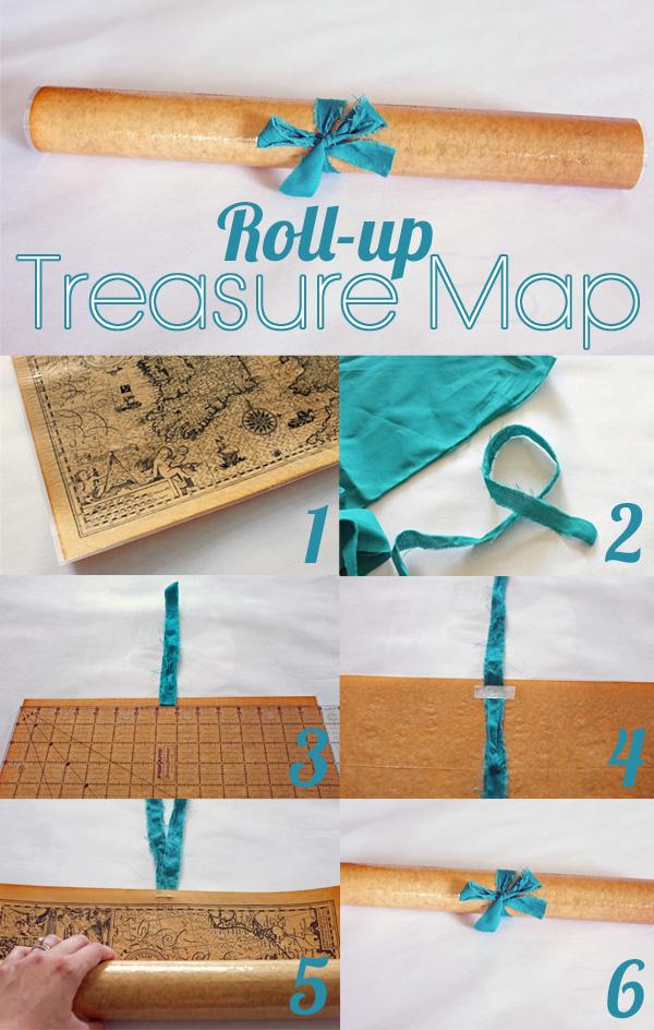 Roll-up Treasure Map