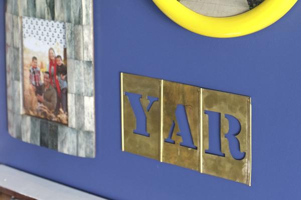 Yar Pirate Greeting Sign