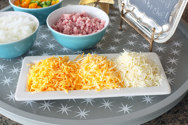 Ombre Cheese Tray