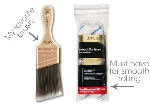 Best brush and roller for painting furniture