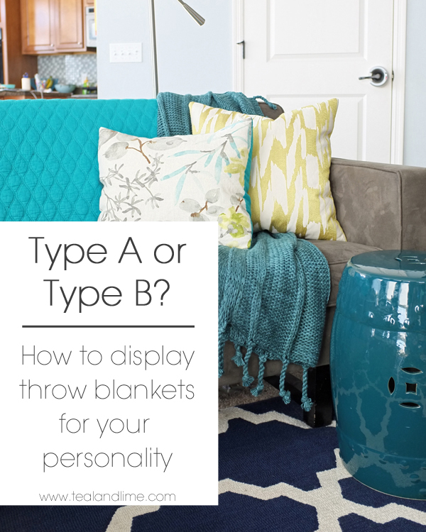 6 Fun Ways To Display Throw Blankets Based On Your Personality Type