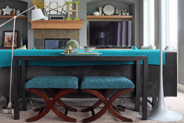 Ordinaire How To Style A Sofa Table Casual 5