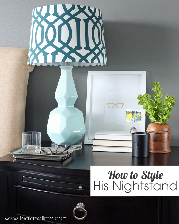 How to decorate his nightstand for Decorate my photo