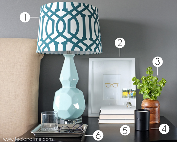 How to decorate his nightstand for How to decorate
