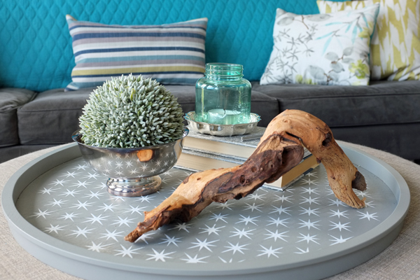 How to style an ottoman