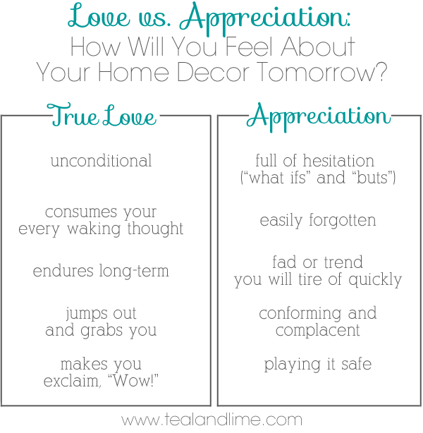 How To Spot Home Decor You Really Love