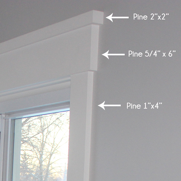 How to install craftsman style window trim school of for Interior trim materials