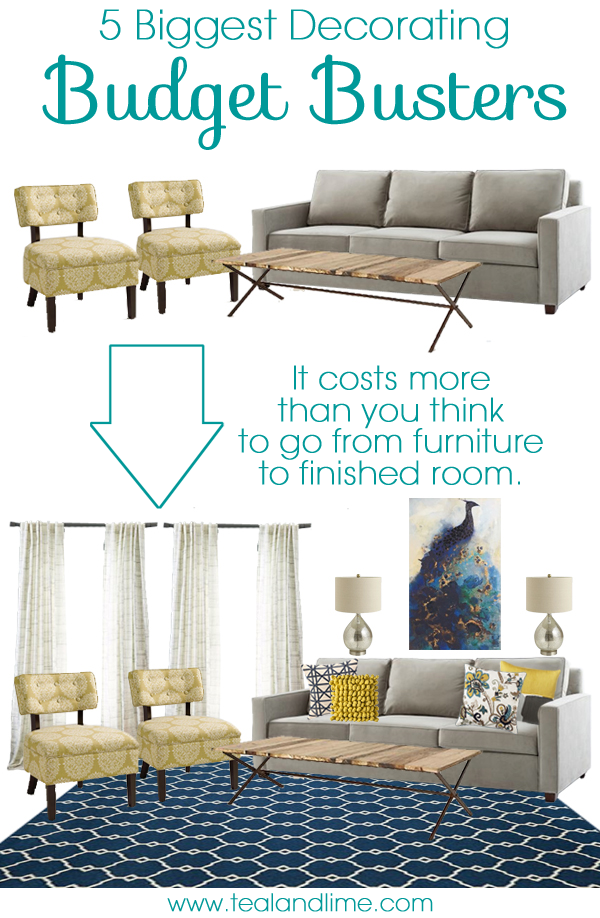 5 Things That Will Blow Your Decorating Budget - School of Decorating