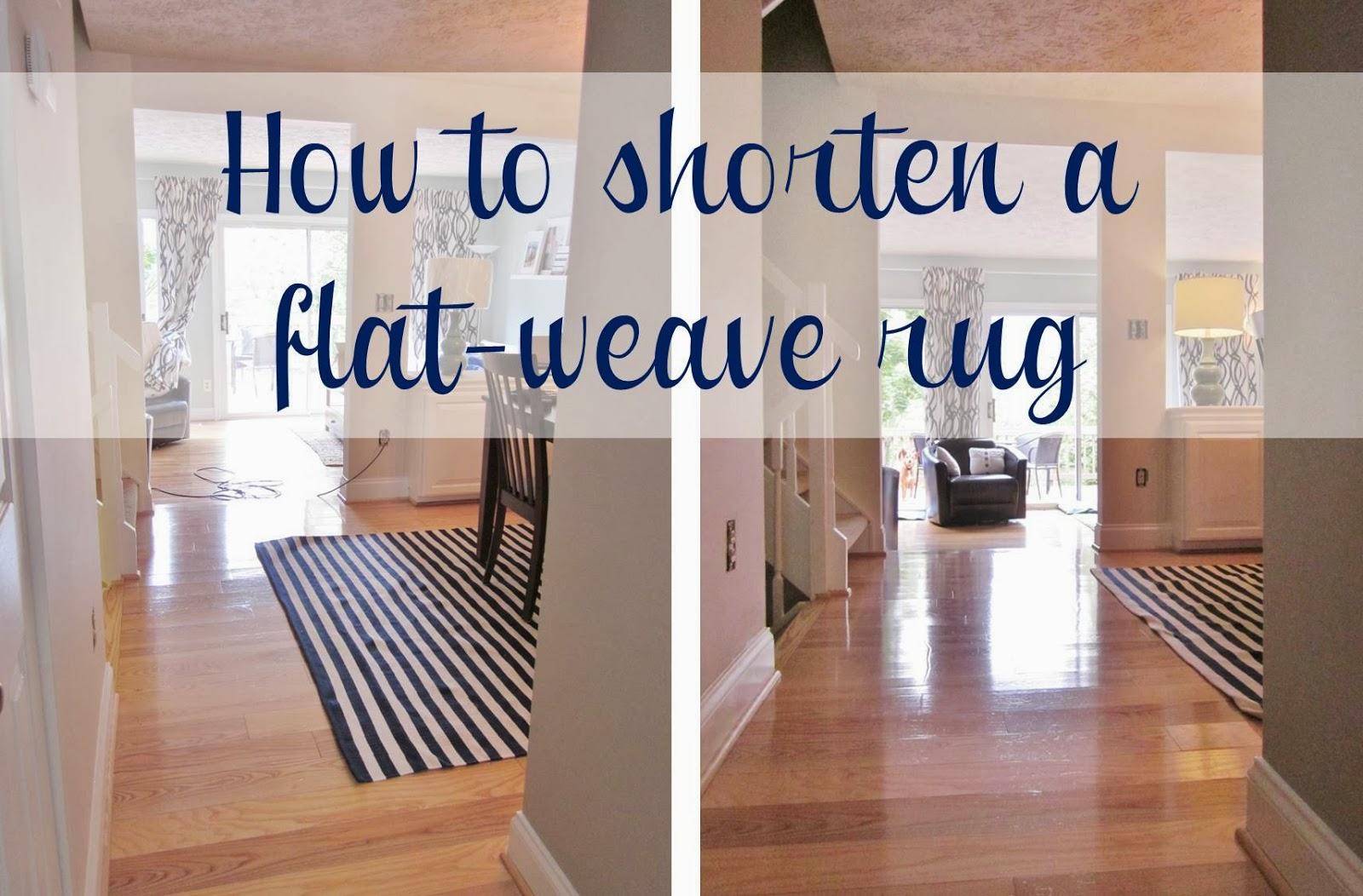 how to shorten a rug-2