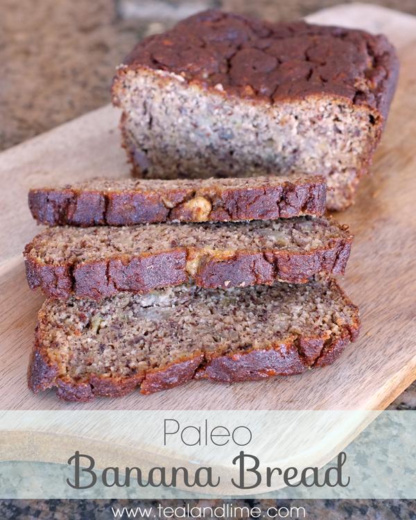 Paleo Banana Bread | tealandlime.com