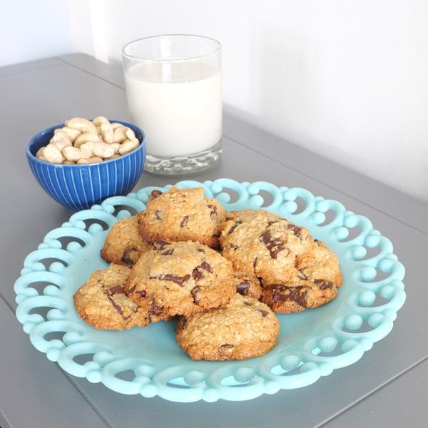 Paleo Chocolate Chunk Cookie Recipe | tealandlime.com