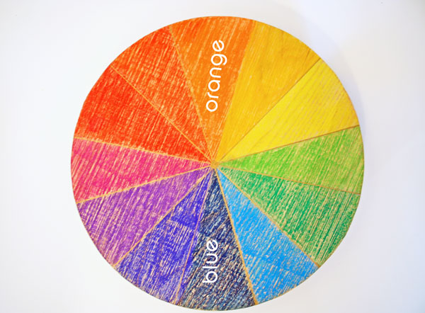 Using the color wheel to achieve color harmony school of - Color wheel for decorating ...