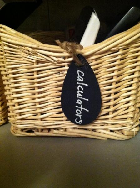Astounding How To Make Easy Chalk Board Basket Labels School Of Door Handles Collection Olytizonderlifede