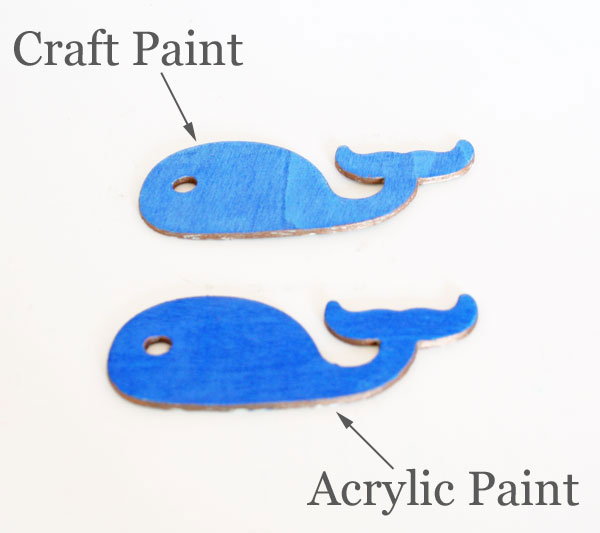What Paint To Use And When Comparing Craft And Acrylic Paint