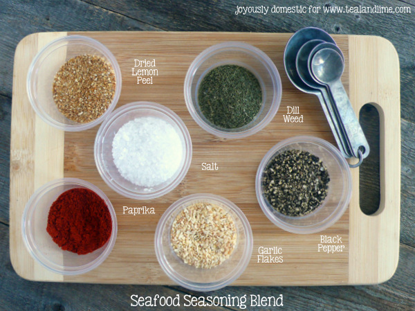 Homemade Seasoning Blends