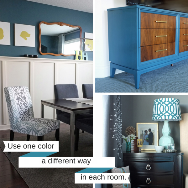 Charmant 7 Steps To Create A Whole House Color Palette | Tealandlime.com