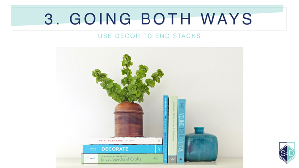 How to style bookshelves | tealandlime.com