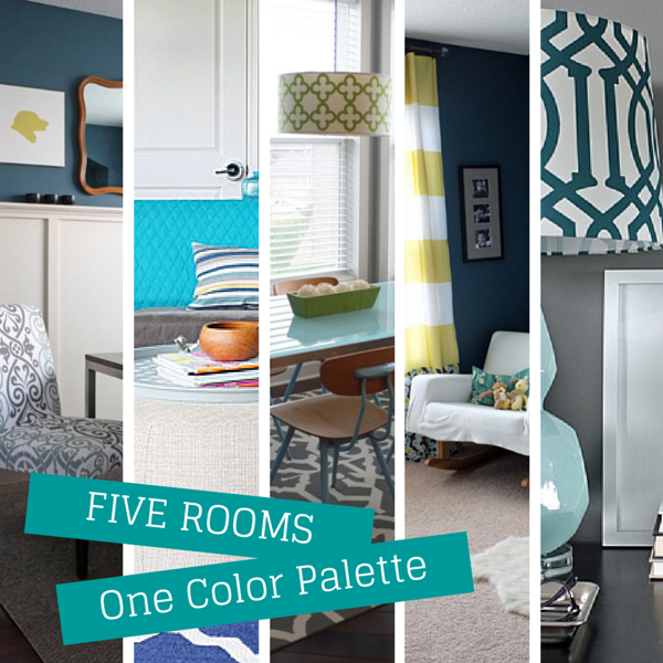 How To Use The Same Color Palette Five Different Ways