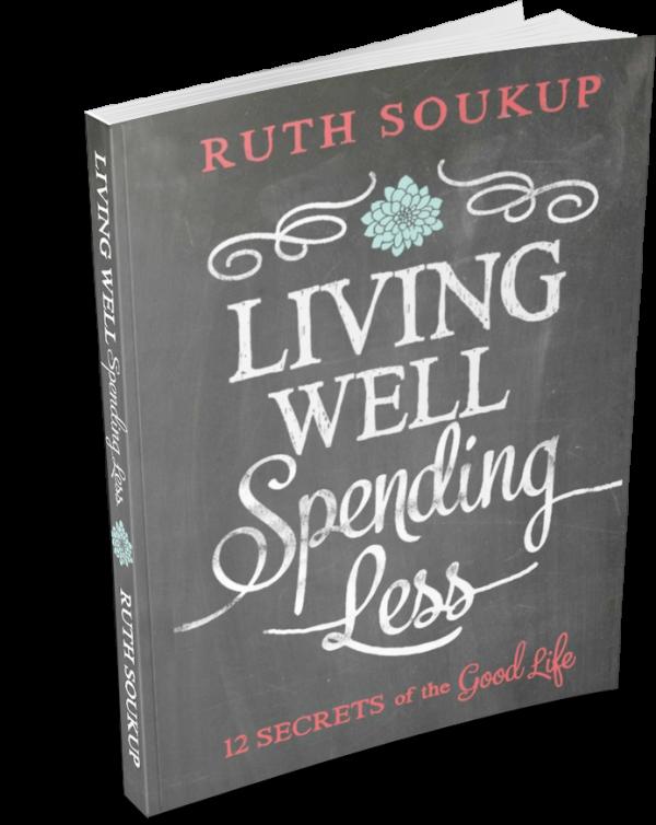Book Review: Living Well Spending Less | tealandlime.com