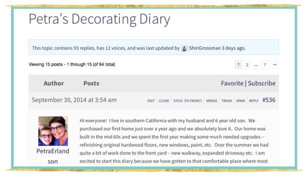 Petras diary