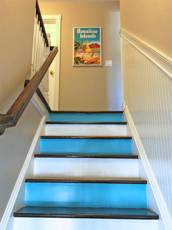 petra staircase art