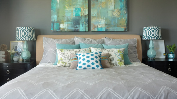 5 Steps to a pulled together bedroom
