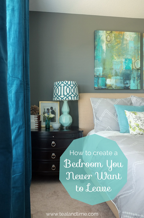 How to create a bedroom you never want to leave in 5 steps