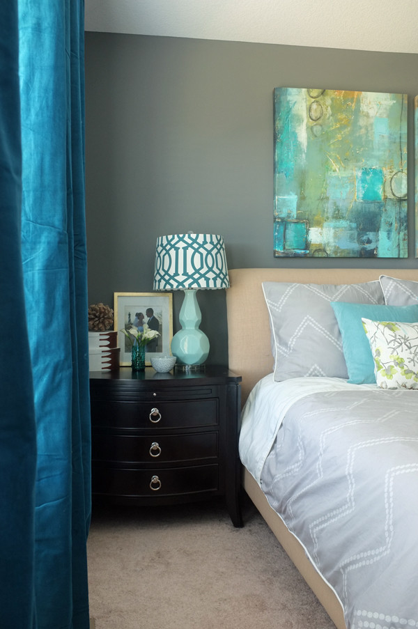 ... Ikea Sanela Curtains Dark Turquoise By How To Make A Bedroom You Never  Want To Leave ...