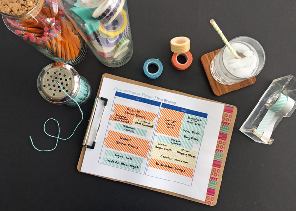 How to plan weekend home projects (Free Printable)
