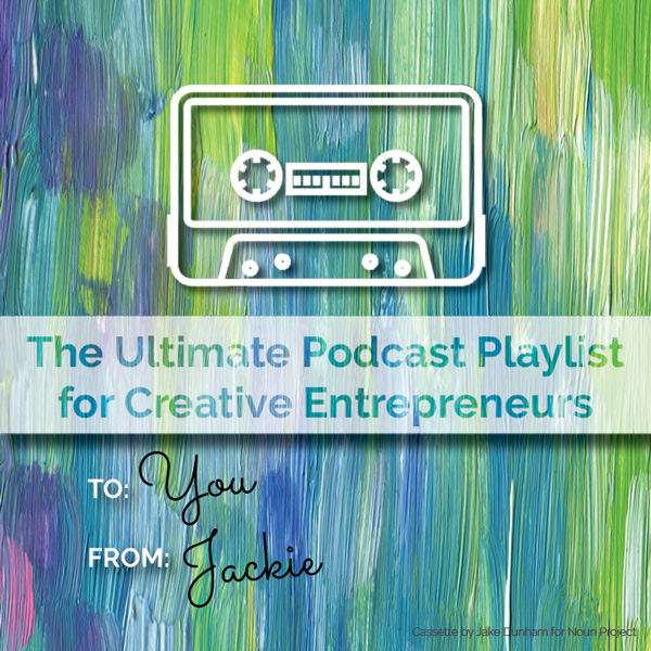 Love this done-for-your gift idea: The Ultimate Podcast Playlist for Creative Entrepreneurs
