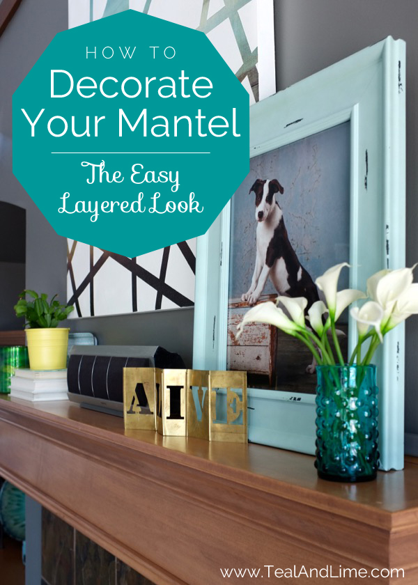 Love these tips for styling a mantel. It's so easy with her tricks. Click through to watch the video.