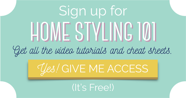home styling 101 free video series how to style your home decor like a pro - Home Decor 101
