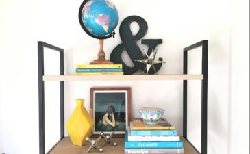 The Basics of Bookshelf Styling