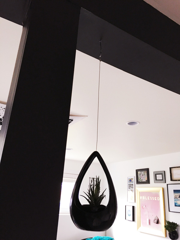 Before & After: Dayle's yoga space makeover