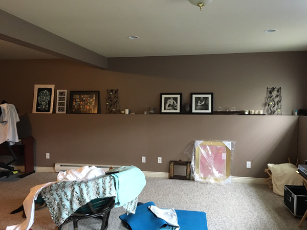 Before & After: Dayle\'s Yoga Cellar - School of Decorating