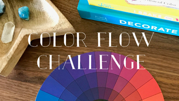 Take the free Color Flow Decorating Challenge and learn how to give any room a simple color makeover.