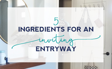 5 Ingredients for an Inviting Entryway
