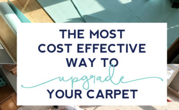 The Most Cost Effective Way to Upgrade Carpet