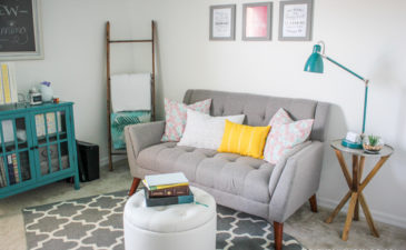 Before & After: Kalyn's Cheerful Home Office