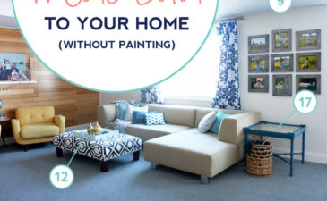 30 Ways to Add More Color to Your Home Without Painting