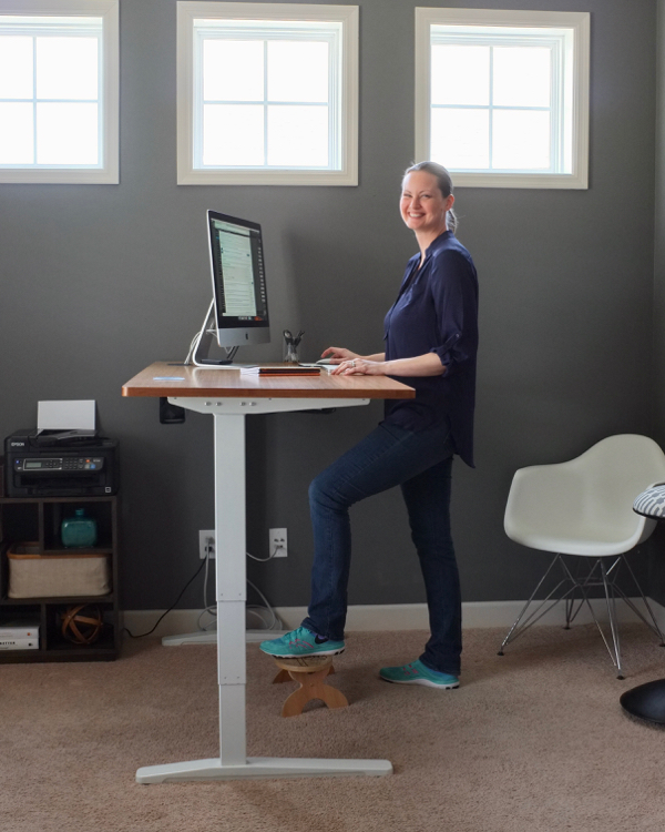 How to switch to a standing desk
