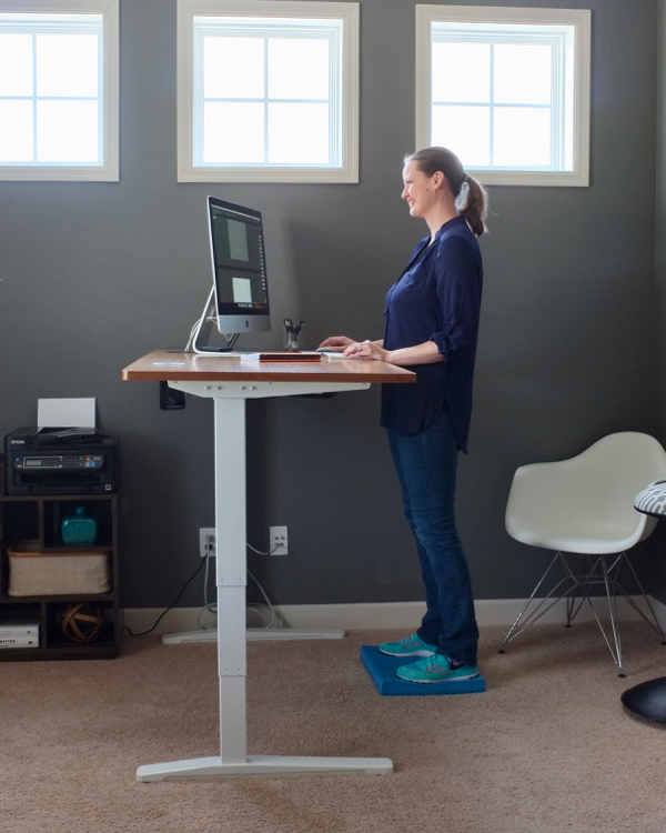 How I Transitioned To A Standing Desk School Of